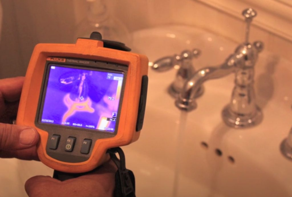Mold Inspection Using an Infrared Camera in Columbus